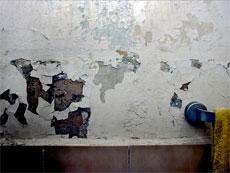 La humedad en los muros por capilaridad la humedad en for Como tapar la humedad de la pared
